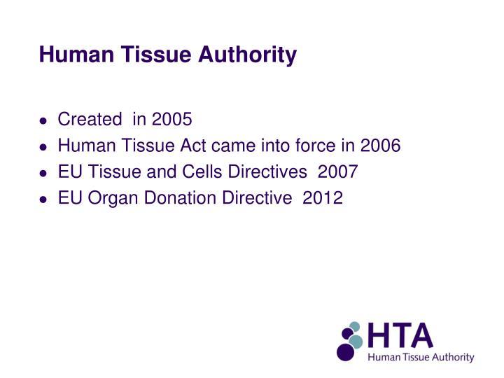 Human Tissue Authority