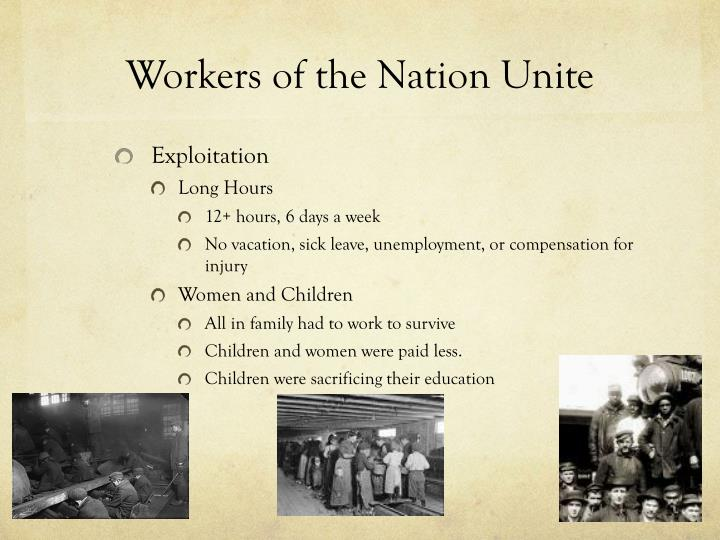 Workers of the Nation Unite