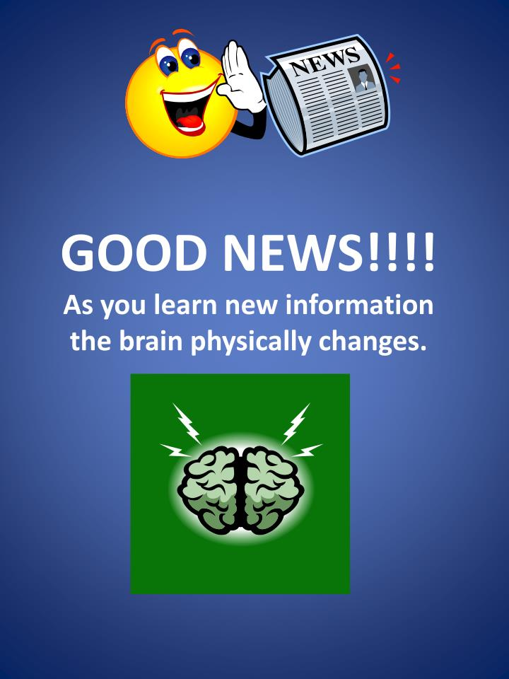 GOOD NEWS!!!!