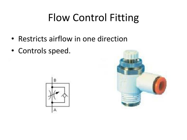Flow Control Fitting