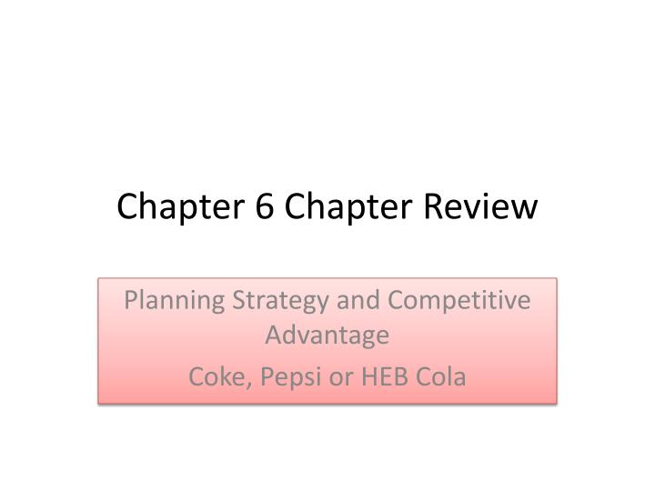chapter 6 chapter review n.