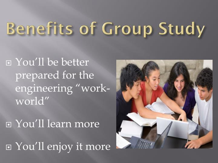 Benefits of Group Study