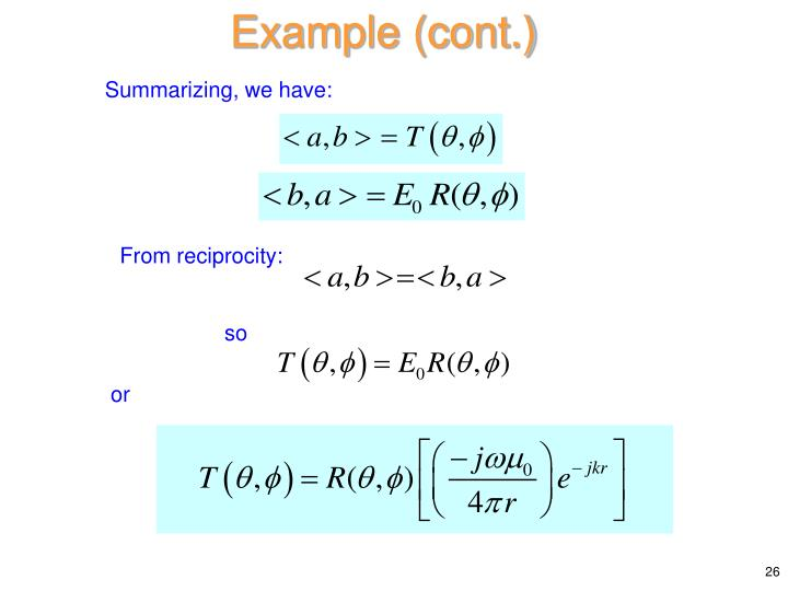 Example (cont.)