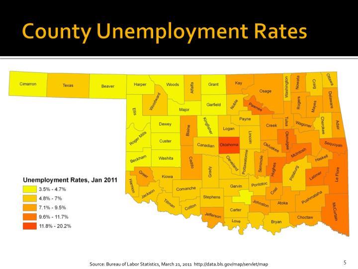 County Unemployment Rates