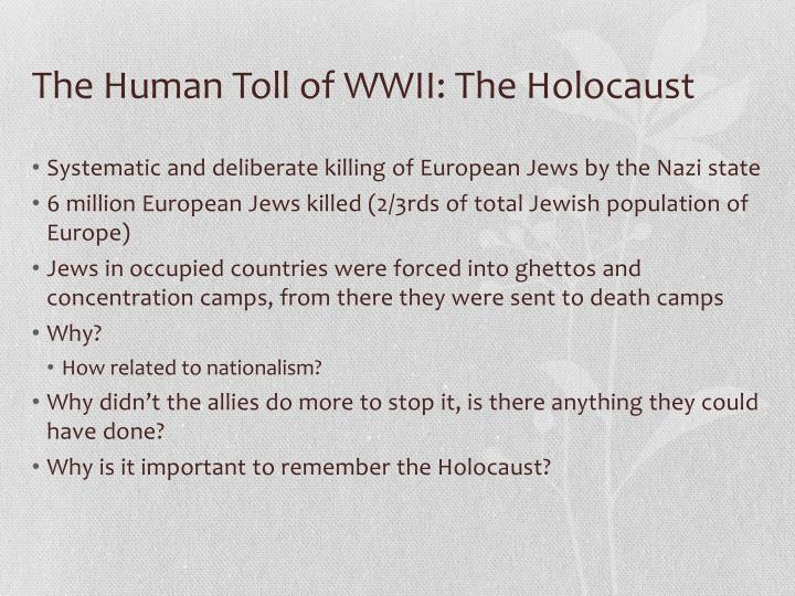 holocaust important to remember essay Lesson 1: the importance of holocaust remembrance the first lesson is the importance of zachor, of remembrance itself for as we remember the six million jewish victims of the shoah – defamed, demonized and dehumanized, as prologue or justification for genocide – we have to understand that the mass murder of six million jews and.