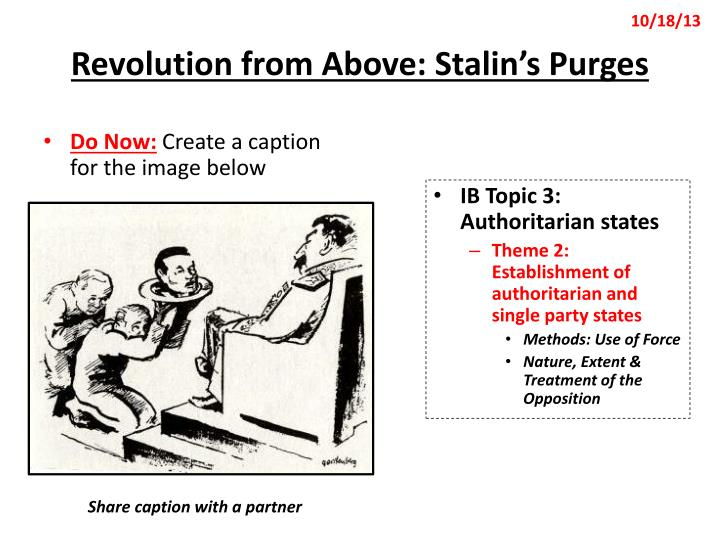 revolution from above stalin s purges