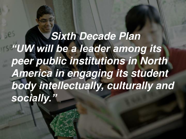 6 th decade plan