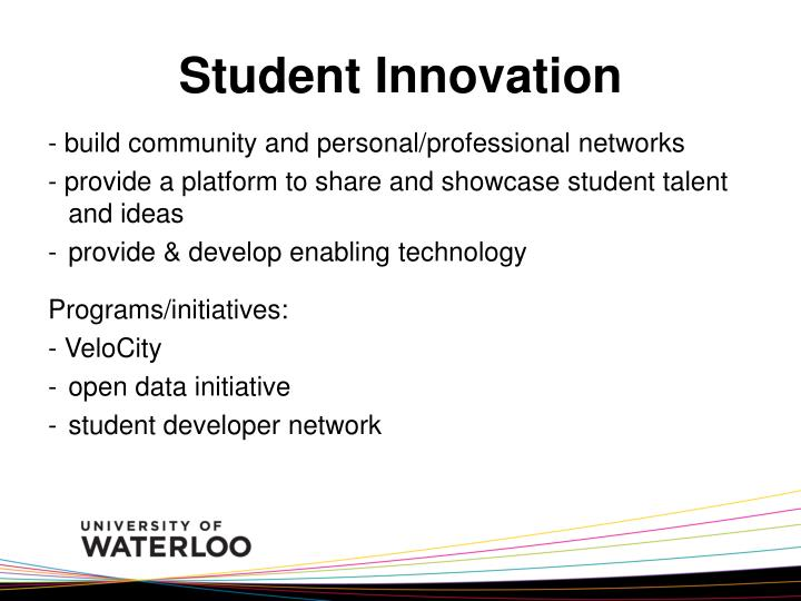 Student Innovation