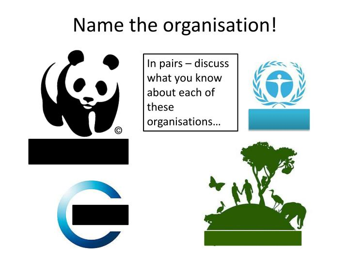 Name the organisation
