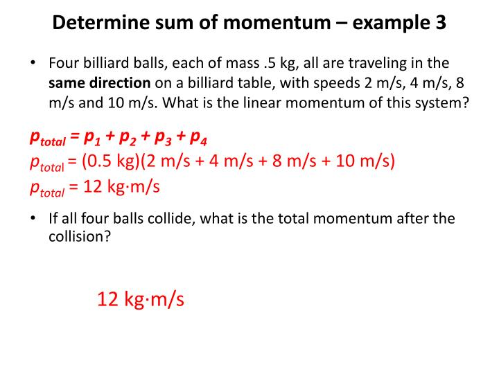 Ppt 6 1 Momentum And Impulse Objectives Powerpoint Presentation