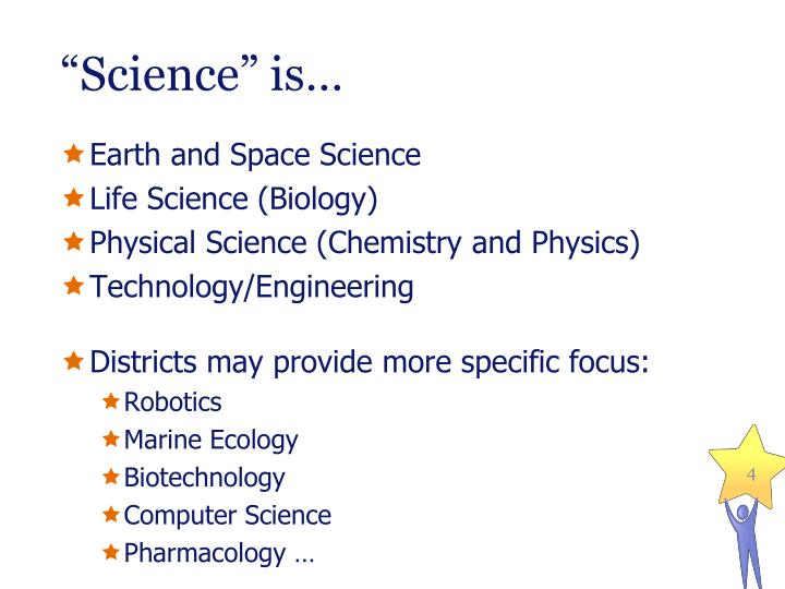 """""""Science"""" is…"""