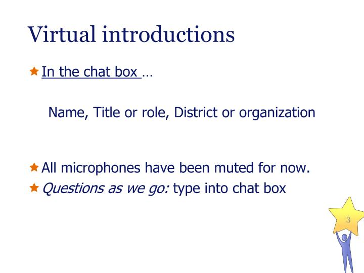 Virtual introductions