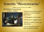 scientific revolutionaries