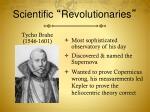 scientific revolutionaries1