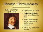 scientific revolutionaries7