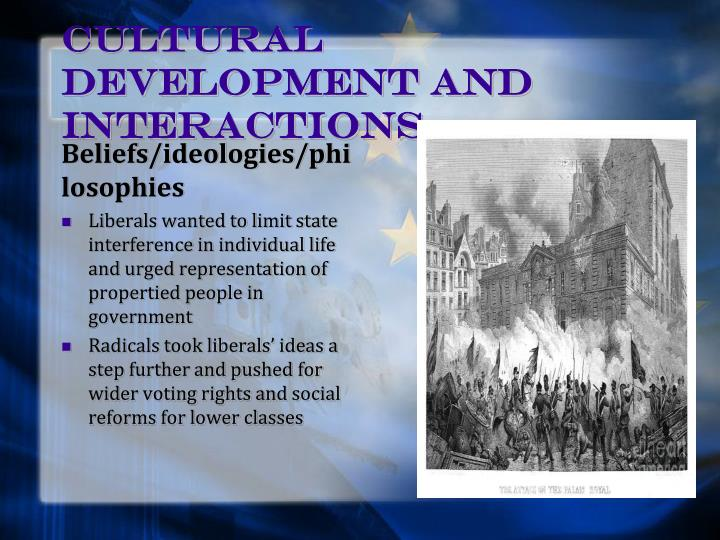 Cultural Development and Interactions