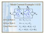 mesh current example 1 1 2