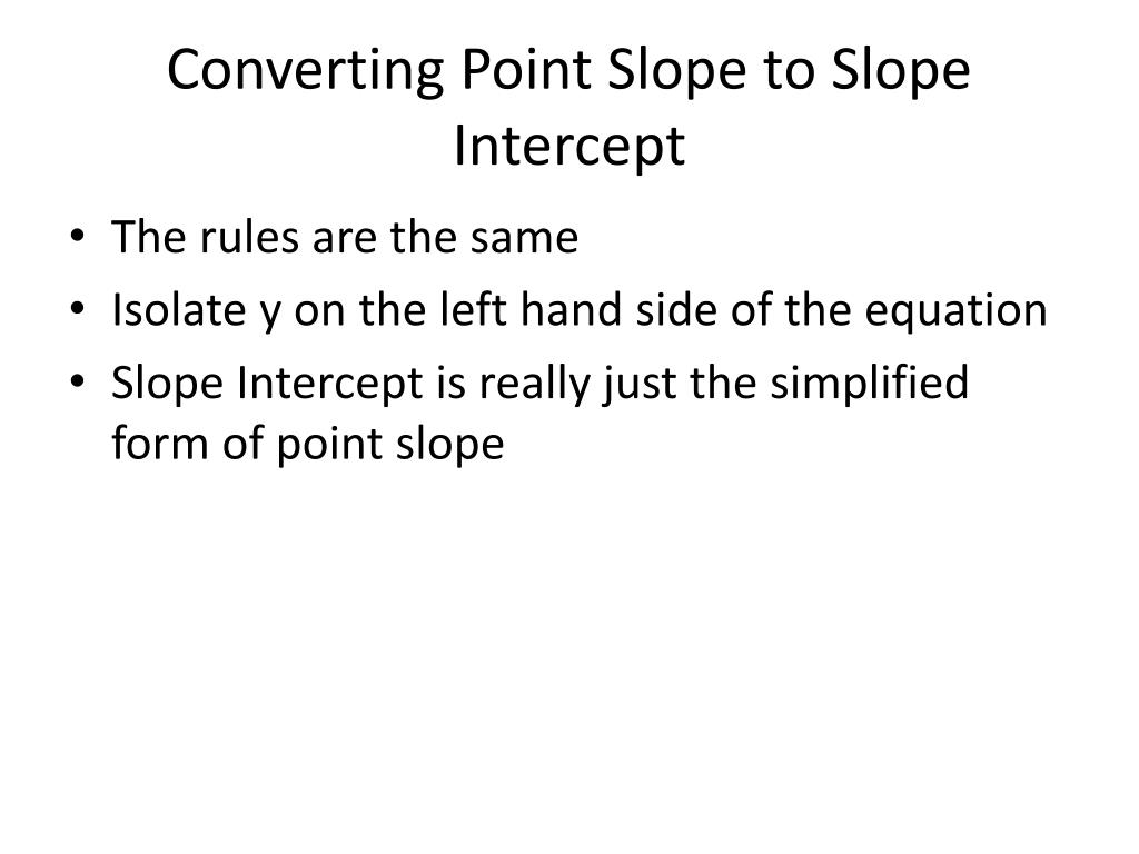 point slope form rules  PPT - Various Forms of Lines PowerPoint Presentation, free ...
