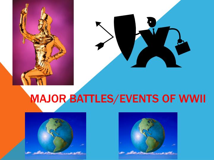major battles events of wwii n.