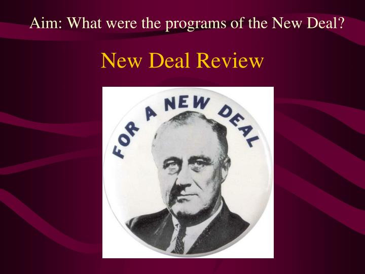 impact of franklin d roosevelt s new