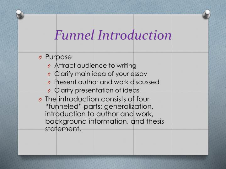 Funnel Introduction
