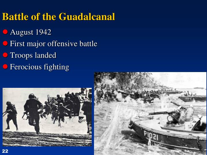 Battle of the Guadalcanal