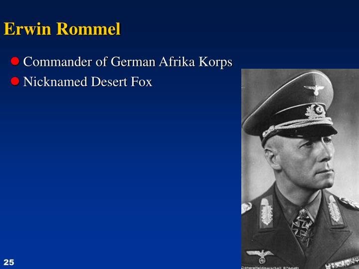 Commander of German
