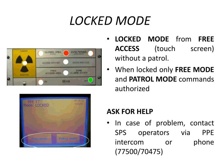 Locked Mode