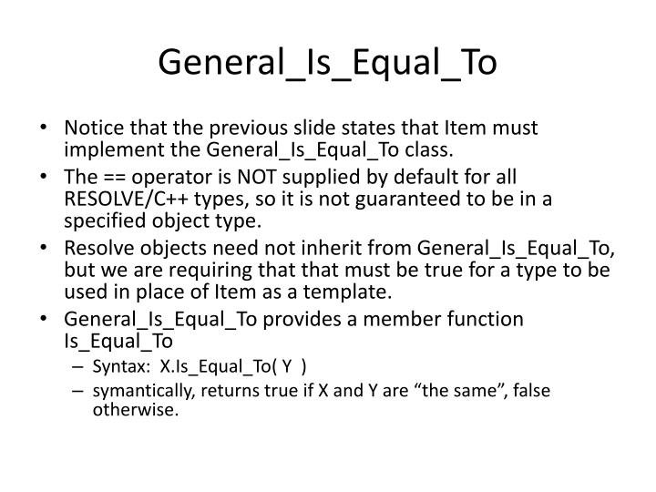 General_Is_Equal_To