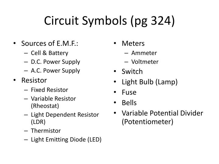 PPT - DC Circuits PowerPoint Presentation - ID:2567594