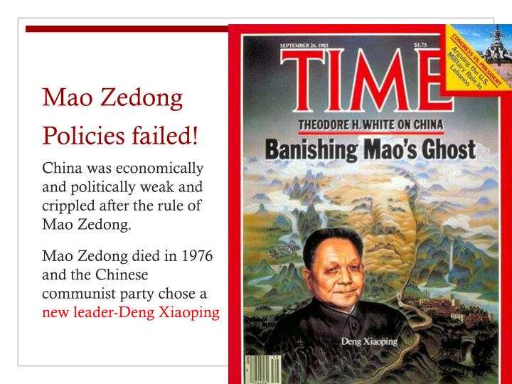 a biography of mao zedong a chinese communist ruler Mao zedong became the paramount chinese communist party leader and one of the most important theorists and strategists in chinese military history he began his military career by organizing rural-centered, armed revolts in his home province in 1927 and establishing the first communist base in.