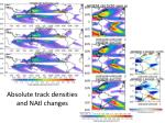 absolute track densities and natl changes