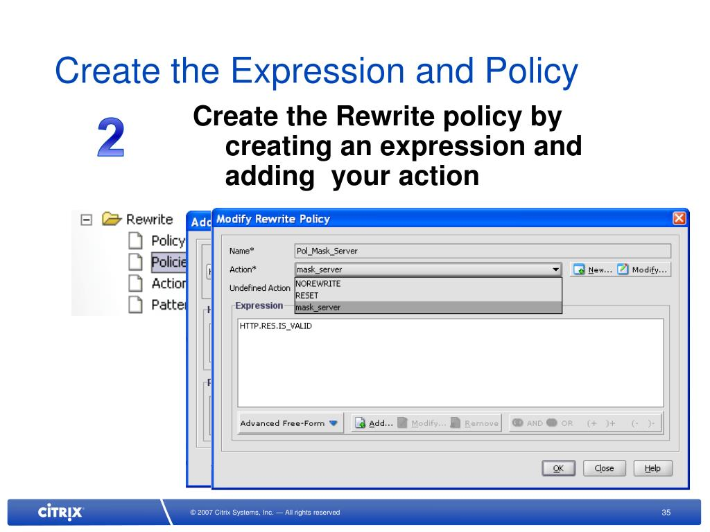 PPT - Creating Citrix NetScaler Policies with AppExpert PowerPoint