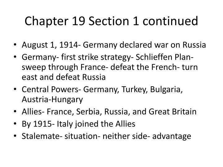 Chapter 19 section 1 continued1