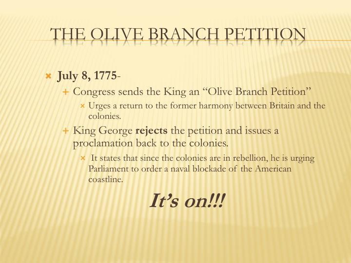July 8, 1775
