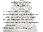 polygon properties challenge
