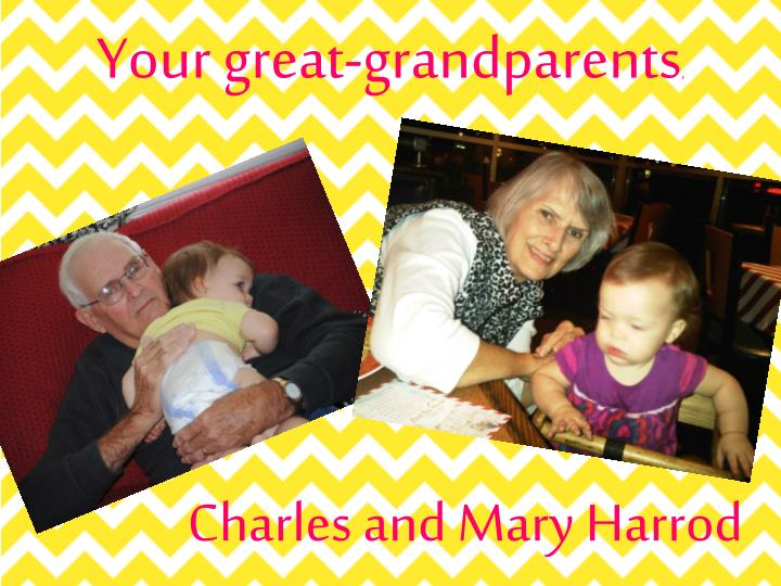 Your great-grandparents