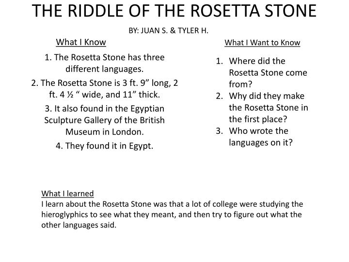 rosetta stone financials