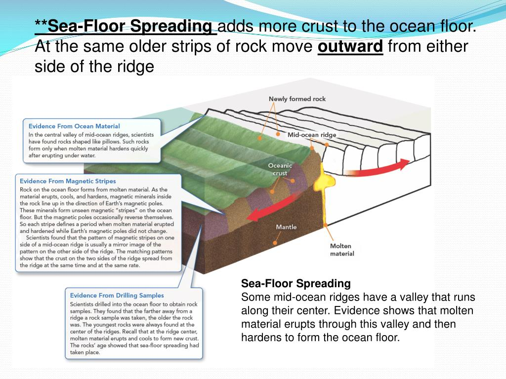 PPT - Table of Contents Drifting Continents Sea-Floor ...