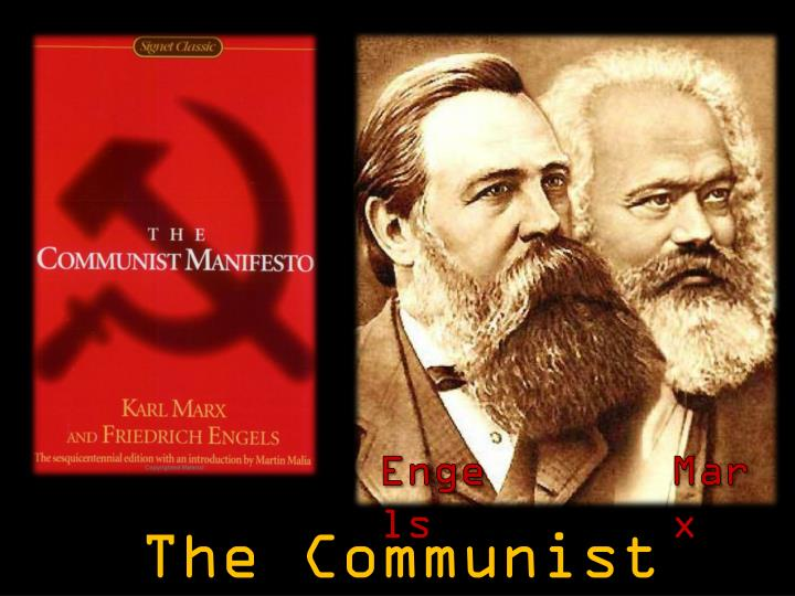 an analysis of the communist manifesto by karl marx and fredrich engels