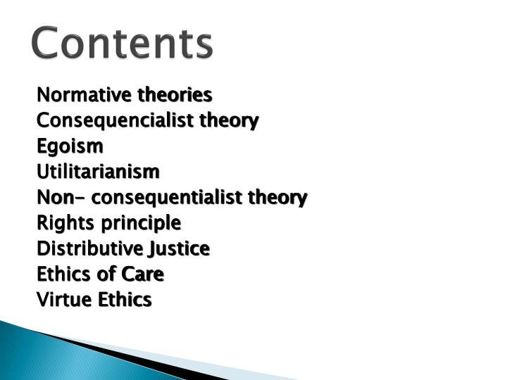 utilitarianism egoism