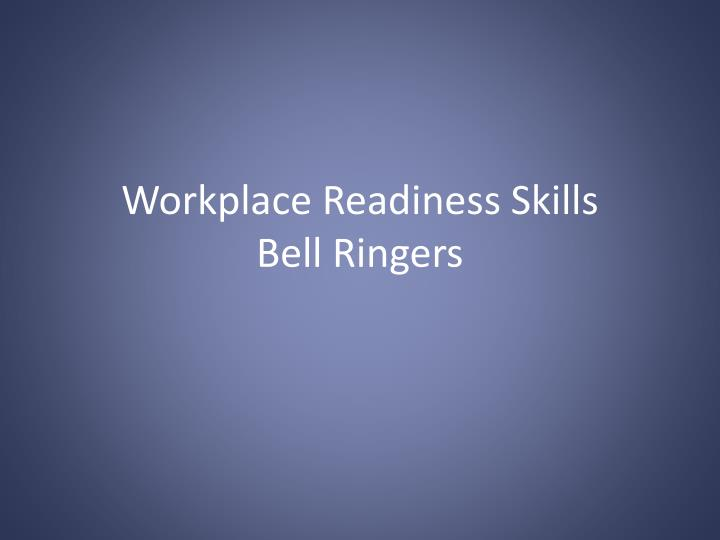 workplace readiness skills bell ringers n.