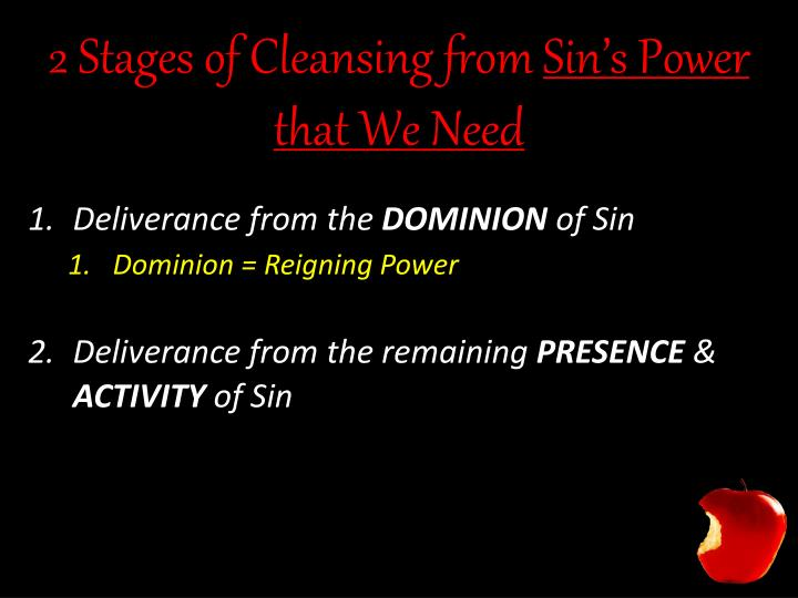 2 Stages of Cleansing from