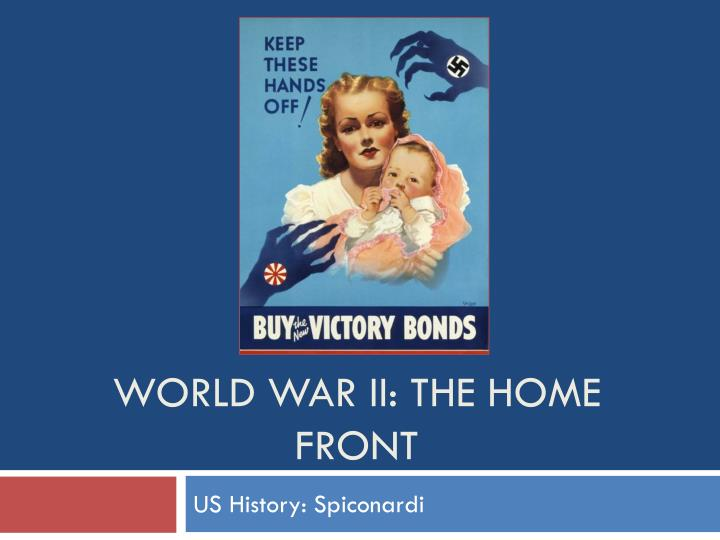 world war ii the home front n.