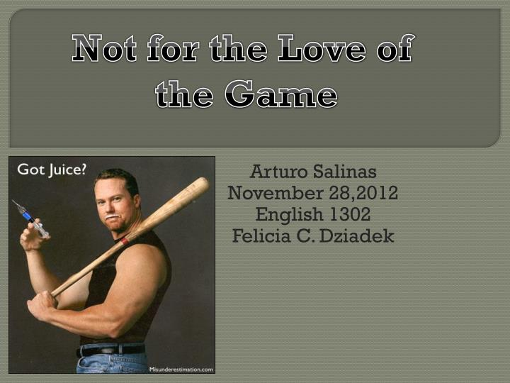 arturo salinas november 28 2012 english 1302 felicia c dziadek n.
