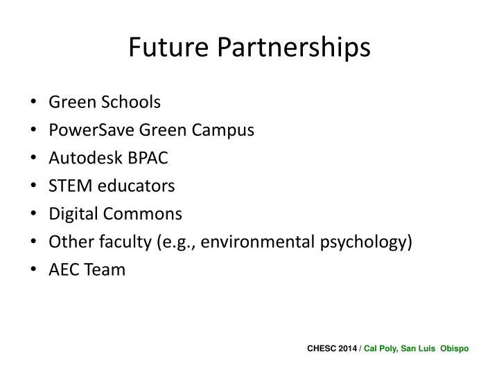 Future Partnerships