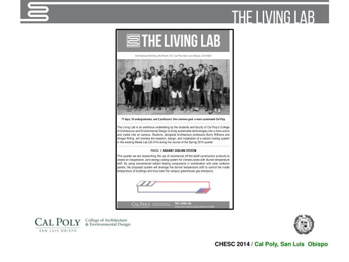 Campus as a living lab