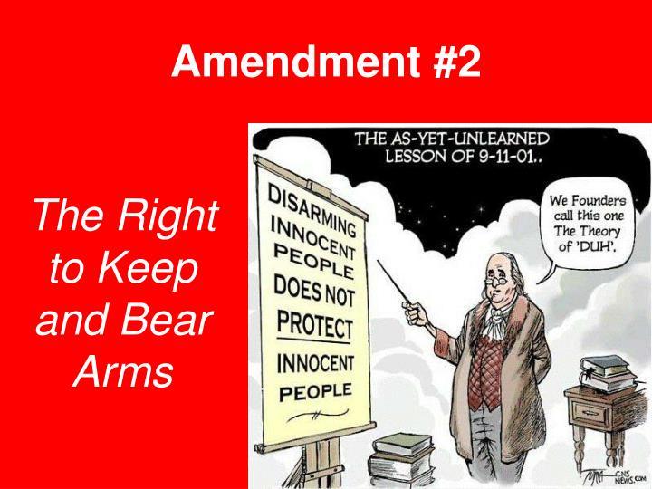Amendment #2