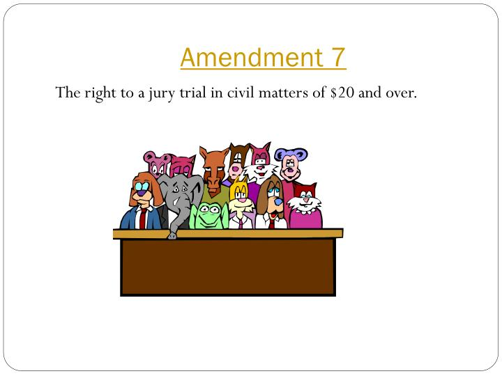 Amendment 7