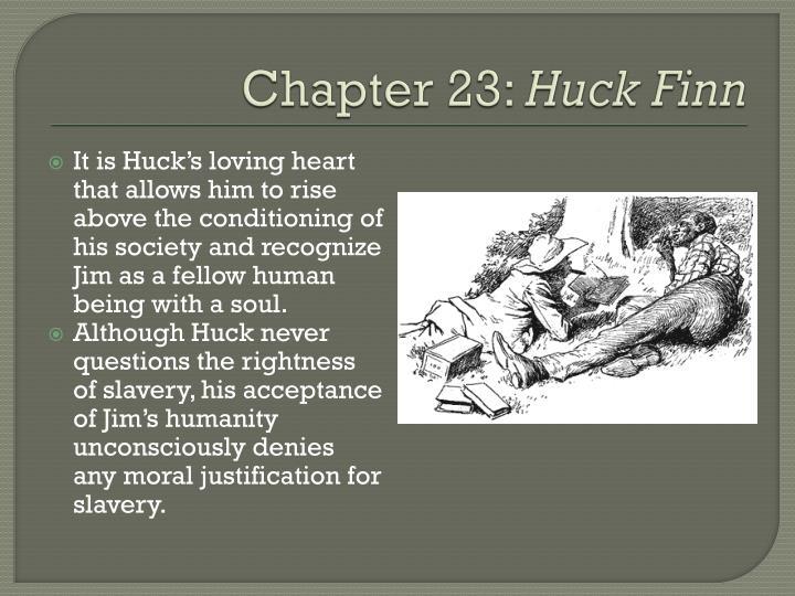 no fear literature huck finn